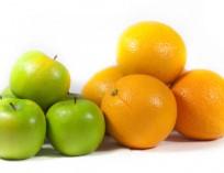 Change, apples & oranges big